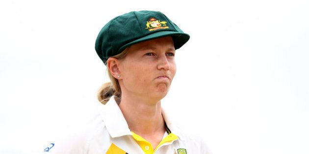 CANTERBURY, ENGLAND - AUGUST 11: Meg Lanning, Captain of Australia looks on prior to the start of play...