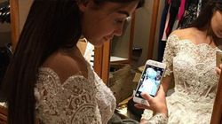 The 22kg Wedding Dress That Took Six People 10 Days To