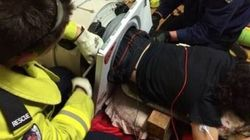 Only In Australia: Man Stuck In His Washing Machine For