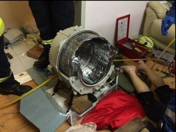 Sydney Man Stuck In Washing Machine For