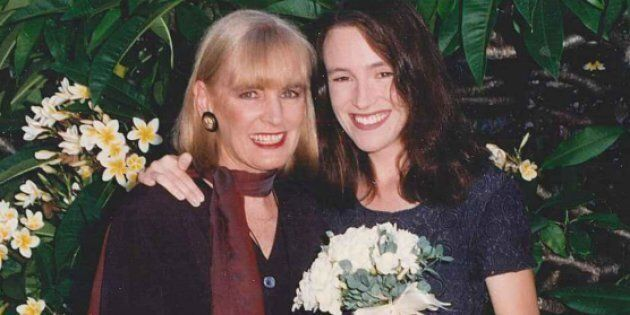 Nikki Gemmell with her mother