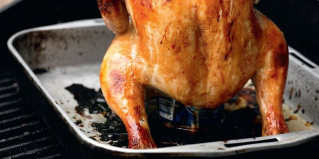 Beer Can Chicken Is The Most Epic Long Weekend Footy