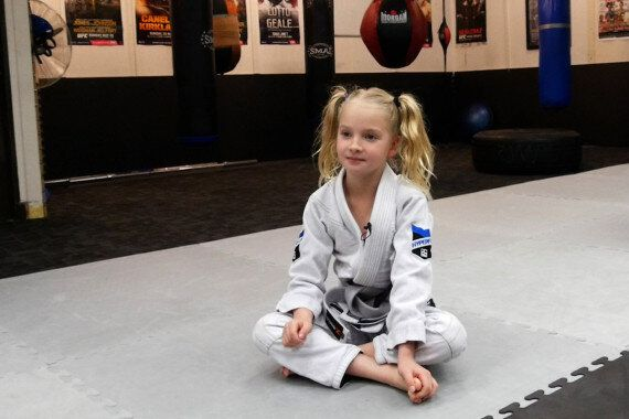 Tiny Brazilian Jiu Jitsu Star Aralai Is Inspiring Kids With New Video