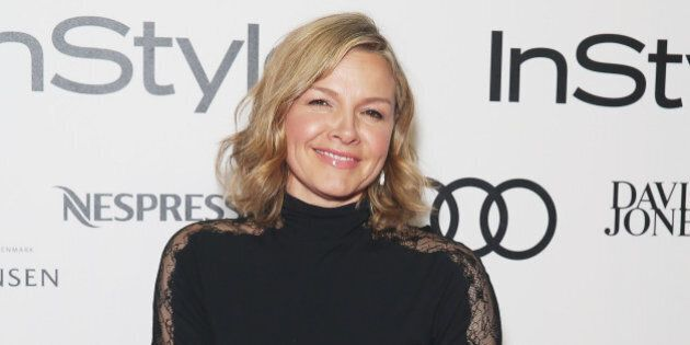 SYDNEY, AUSTRALIA - MAY 13:  Justine Clarke arrives at the 2015 Women of Style Awards at Carriageworks on May 13, 2015 in Sydney, Australia.  (Photo by Don Arnold/WireImage)
