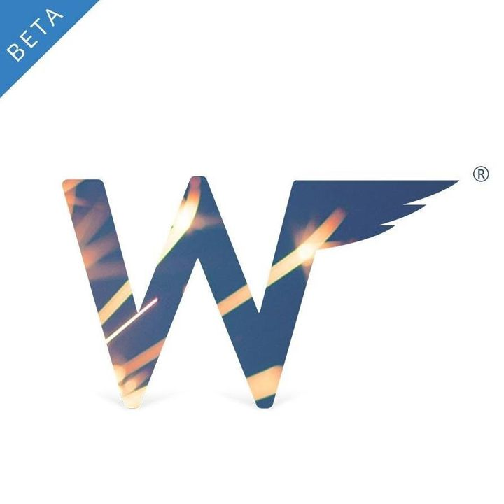 Wingman's flashy new logo.