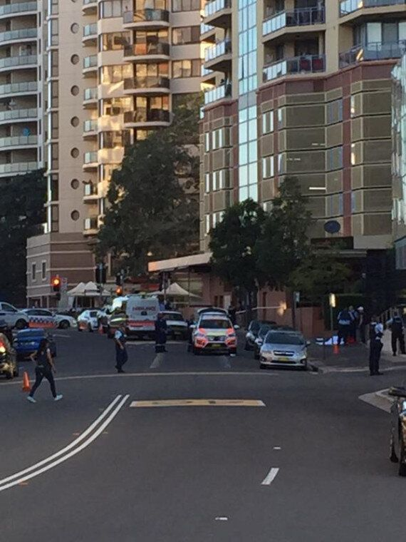 Two Shot Outside Sydney Police