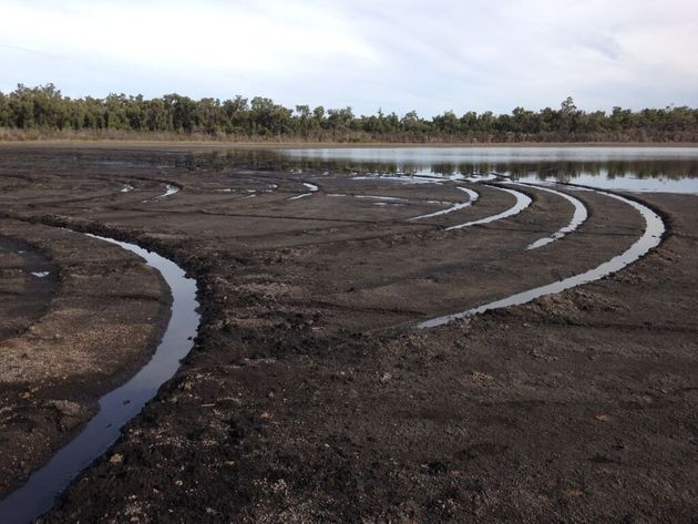 Previous damage also found to a peat lake bed in the Mt Lindesay National