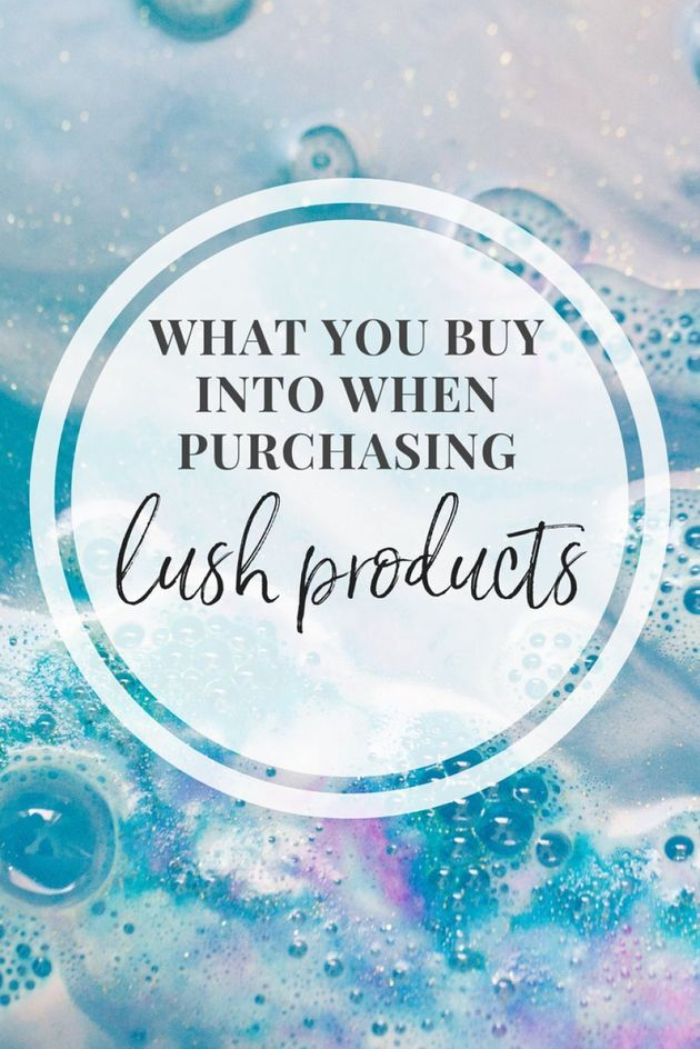 Here Are All The Causes You Support When Buying LUSH