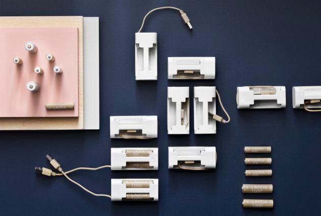 IKEA Launches Rechargeable Batteries, Manages To Make Them Look