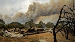 Fires Spread Despite Cool Change, One Man Still