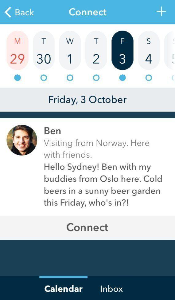 Sydney Hook-Up Travel App Sets Sights On New