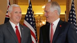 Pence Talks Up 'Strong And Historical' Australia-US