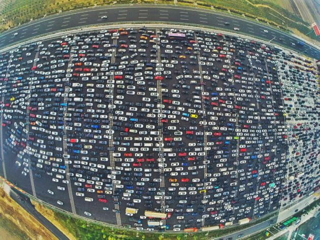 China's Epic Traffic Jam Looks Like 'Carmageddon' On The Beijing-Hong Kong-Macau