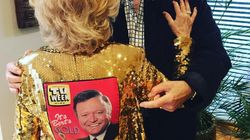 Bert Newton Couldn't Make It To The Logies But Patti Brought Him
