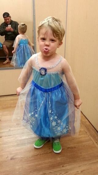 Why Boys In Princess Dresses Go Viral, And Girls Dressed As Men