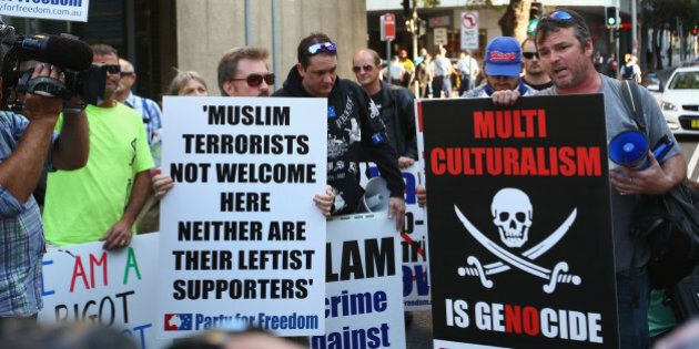 The Anti-Islam Protest In Sydney Was Virtually Over Before It