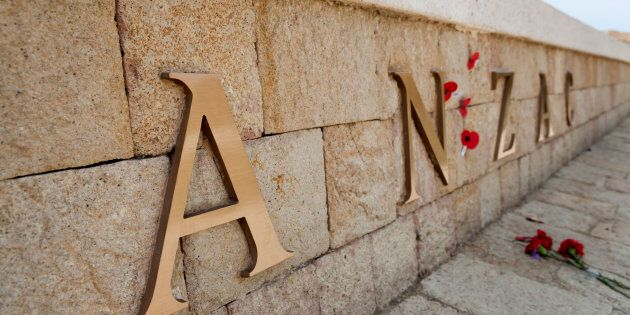 Melbourne War Memorial Graffitied On Eve Of Anzac