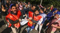Twin Bombings In Turkey's Capital Leave Dozens