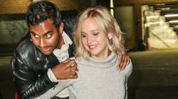 Jennifer Lawrence And Aziz Ansari Give New Meaning To