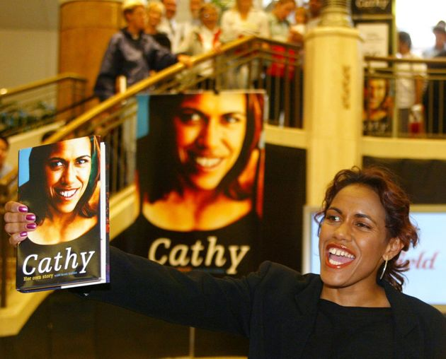 Cathy Freeman retired in 2003 and released her autobiography the same
