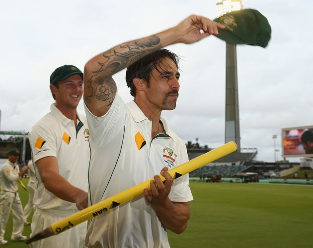 Mitchell Johnson announced his retirement during day five of the second Test match between Australia...