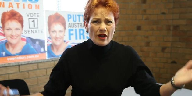 Pauline Hanson's One Nation policies are being checked.