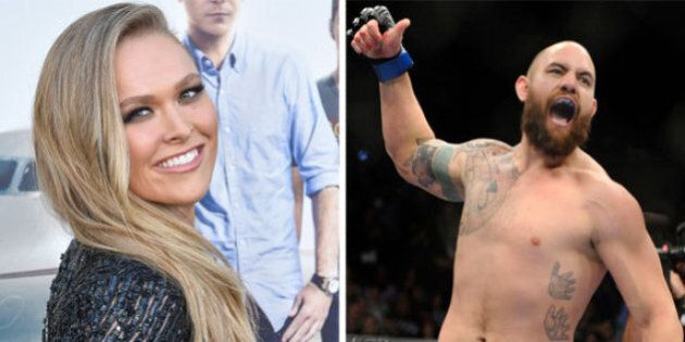 Ronda Rousey Confirms Relationship With UFC Fighter Travis