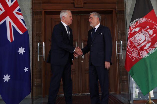 Prime Minister Malcolm Turnbull met with Iraqi Prime Minister Dr Haider Al-Abadi in