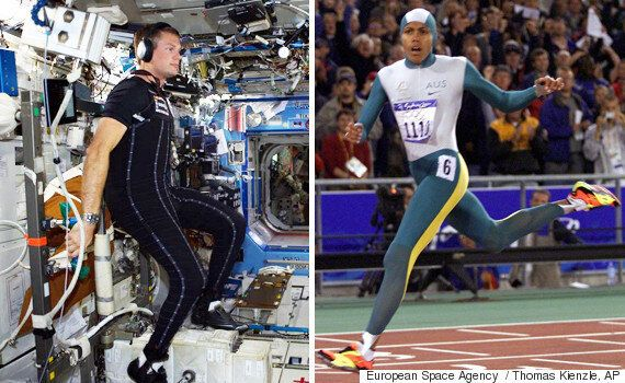 Spacesuit Inspired By Athlete Cathy Freeman Gets Its Debut At The International Space