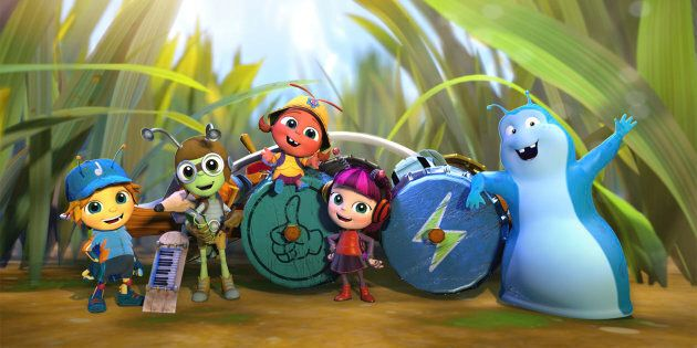 Beat Bugs airs July 25 on Channel 7
