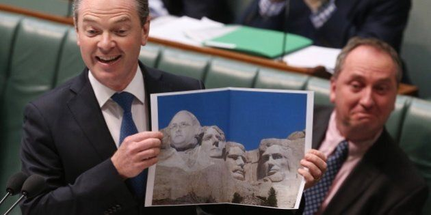 Christopher Pyne Just Did The Worst Photoshop Job