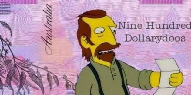 Simpsons-Themed Petition To Change Australia's Currency To