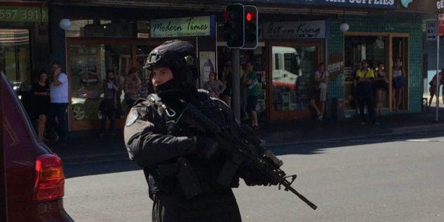 Police Raid On Busy