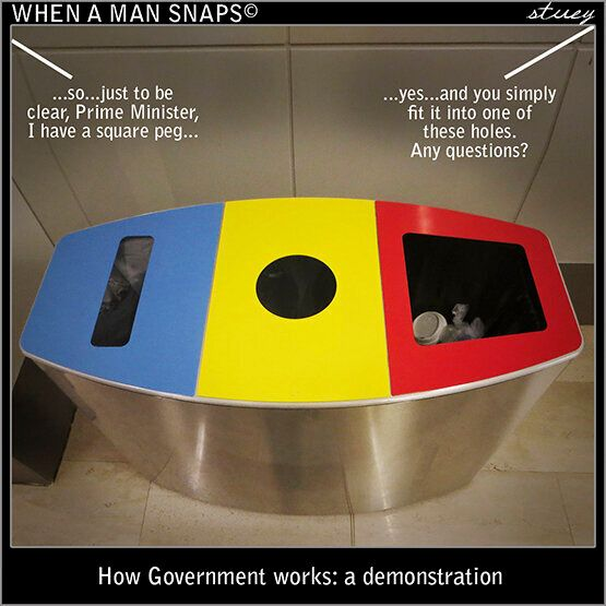 Here's A Rubbish Demonstration Of How Government