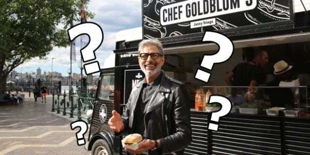 Five Possible Reasons Why Jeff Goldblum Was Giving Out Free Sausage In