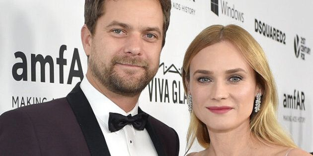 HOLLYWOOD, CA - OCTOBER 29: Actors Joshua Jackson (L) and Diane Kruger wearing Harry Winston at amfAR's Inspiration Gala Los Angeles at Milk Studios on October 29, 2015 in Hollywood, California. (Photo by Stefanie Keenan/Getty Images for Harry Winston)