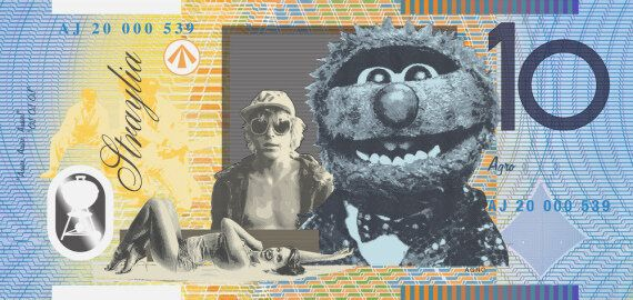 Artist Takes To Australian Bank Notes To Make Them More