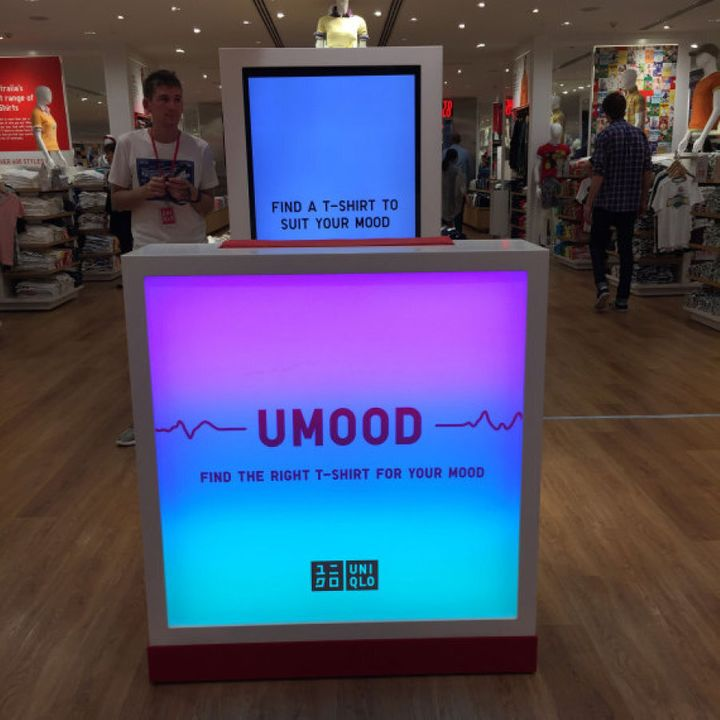 Try the UMood out for yourself at the UNIQLO Pitt Street store in Sydney.