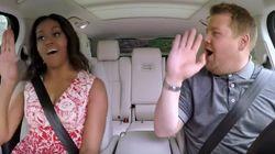 Michelle Obama Goes Full Beyoncé In 'Carpool Karaoke' With James