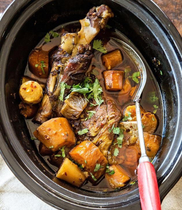 Slow cookers make dinner ridiculously easy. Just chuck everything in a pot and dinner is ready when you...