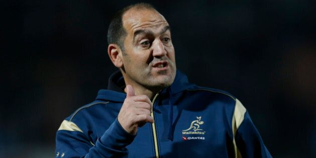 MENDOZA, ARGENTINA - JULY 25:  Mario Ledesma assistant coach of Australian Wallabies during a match between Australia and Argentina as part of The Rugby Championship 2015 at Estadio Malvinas Argentinas on July 25, 2015 in Mendoza, Argentina. (Photo by Gabriel Rossi/Getty Images)