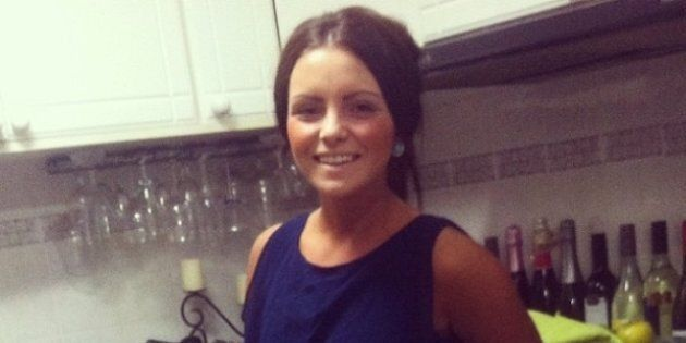 Nicole Evans, 20, has suffered severe burns to more than 50 per cent of her body, including her