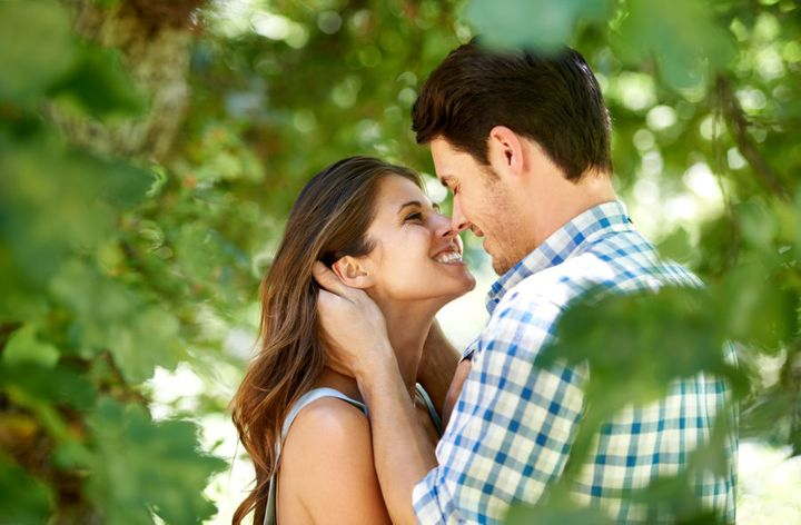 Eye contact, or 'the gaze' is a very important part of mutual attraction.
