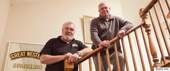 Brothers Raise a Glass To Pub's Ghostly