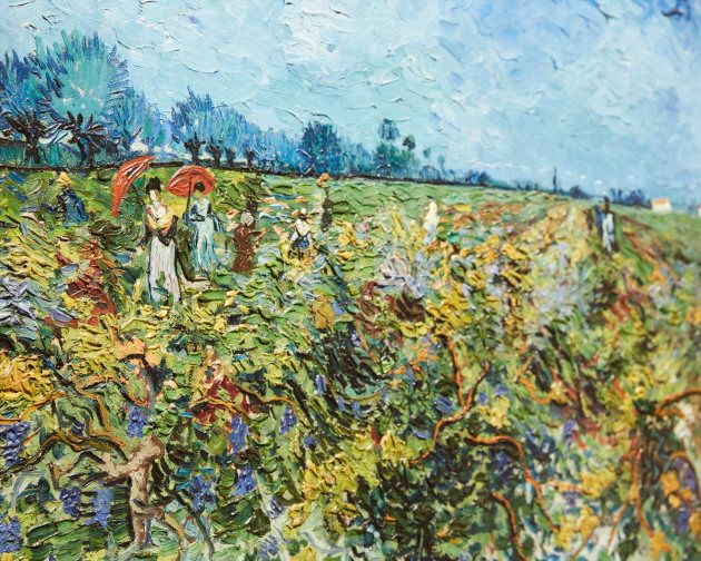 'Van Gogh and the Seasons'  has opened at the National Gallery of Victoria.