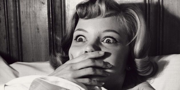 Never fear... chances are your teeth didn't actually fall out in your sleep.