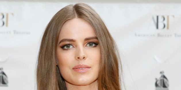 NEW YORK, NY - MAY 12:  Robyn Lawley attends the American Ballet Theatre 2014 Opening Night Spring Gala at The Metropolitan Opera House on May 12, 2014 in New York City.  (Photo by John Lamparski/WireImage)