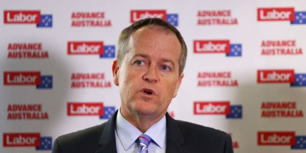 SYDNEY, AUSTRALIA - SEPTEMBER 24: Australian Opposition Leader Bill Shorten during a media conference...
