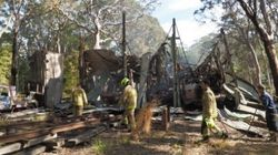 Fire Destroys Historic Trams And Buses At Sydney Tramway