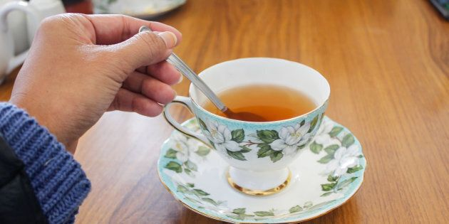 A good cuppa. Now that's nice.